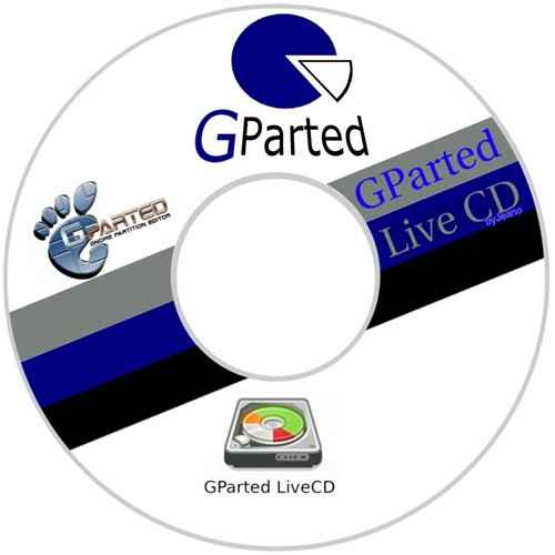 Gnome Partition Editor (GPartEd) Live