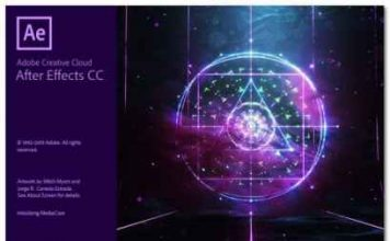 Portable Adobe After Effects CC 2018