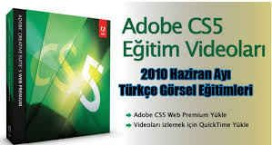 Adobe CS5 Video Görsel Eğitim Seti